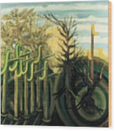 Fantastic Forest  Wood Print