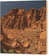 Fantastic Landscape Valley Of Fire Wood Print