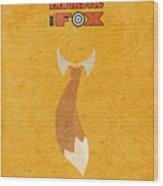 Fantastic Mr. Fox Wood Print