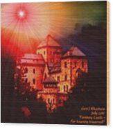 Fantasy Castle For Mandy Maxwell H A Wood Print