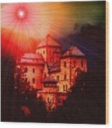 Fantasy Castle For Mandy Maxwell H B Wood Print