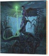 Fantasy Creatures 3 Wood Print