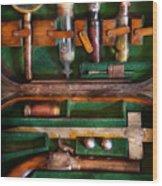 Fantasy - Emergency Vampire Kit  Wood Print