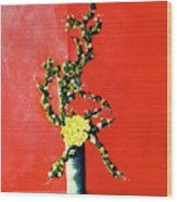 Fantasy Flowers Still Life #162 Wood Print
