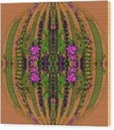 Fantasy Garden Five Wood Print