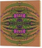 Fantasy Garden Six Wood Print
