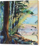 Fantasy Island Wood Print