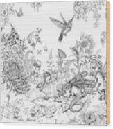 Fantasy Land Wood Print