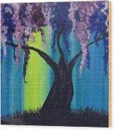Fantasy Tree Wood Print