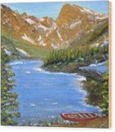 Far From La, 16x20, Oil, '08 Wood Print