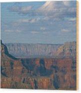 Far Off Canyon Wood Print