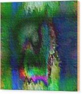 Farbige Phantasie Wood Print