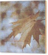 Farewell Summer Wood Print
