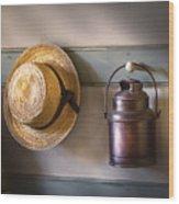 Farm - Tool - The Coat Rack Wood Print