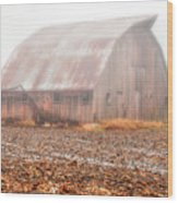 Farm Barn Wood Print