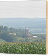 Farm Country Wood Print