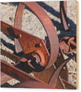 Farm Equipment 4 Wood Print
