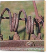 Farm Equipment 7 Wood Print