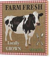 Farm Fresh-jp2381 Wood Print