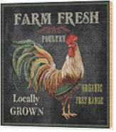 Farm Fresh-jp2634 Wood Print