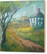 Farm In Gorham Wood Print