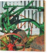 Farm Junk No8 Wood Print