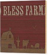 Farm Life-jp3220 Wood Print