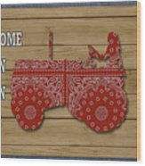 Farm Life-jp3230 Wood Print