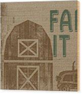 Farm Life-jp3235 Wood Print