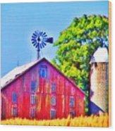 Farm Near Gettysburg Wood Print