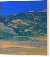 Farm Rio Culebra Basin Co Wood Print