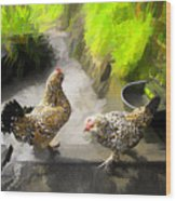 Farm Series # 51 Wood Print