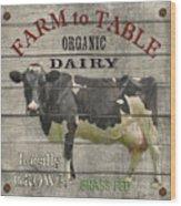 Farm To Table Dairy-jp2629 Wood Print