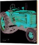 Farmall Tractor Wood Print