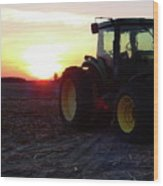 Farmers Delight Wood Print
