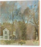 Farmhouse - Gordonsville Va Wood Print