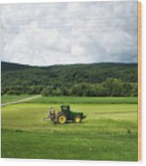 Farming New York State Before The July Storm 03 Wood Print