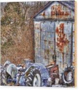 Farmjunk Wood Print
