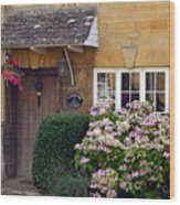 Farthing Cottage Wood Print