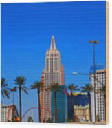 Fascination Las Vegas Wood Print