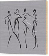 Fashion Abstraction N2 Wood Print