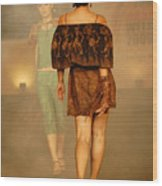 Fashion Catwalk Wood Print