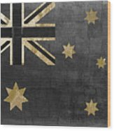 Fashion Flag Australia Wood Print