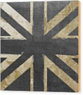 Fashion Flag United Kingdom Wood Print