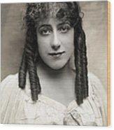 Fashion: Hairstyle, C1910 Wood Print