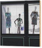 Fashionistas Wood Print