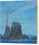 Fastnet Rock Lighthouse. Wood Print