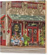 Fat Hen Grocery - New Orleans Wood Print