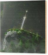 Fate Of A Kingdom Wood Print by Melissa Krauss