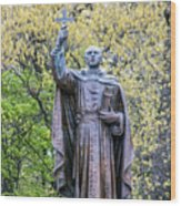 Father Marquette Wood Print